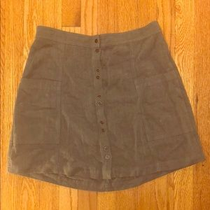 Olive green skirt from target